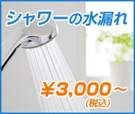 洗面所・お風呂の詰まり¥3,000(税込)~